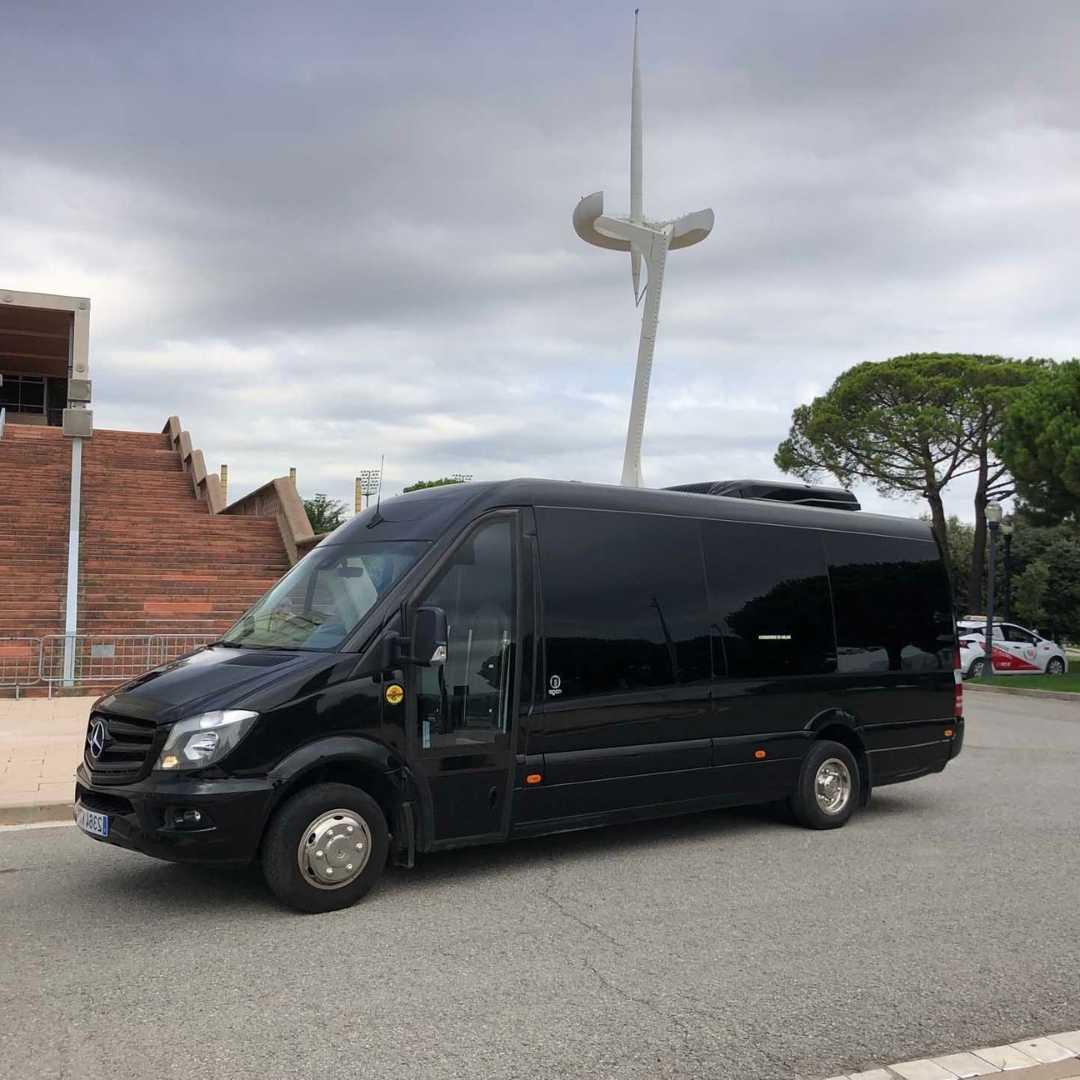 Minibus Barcelona
