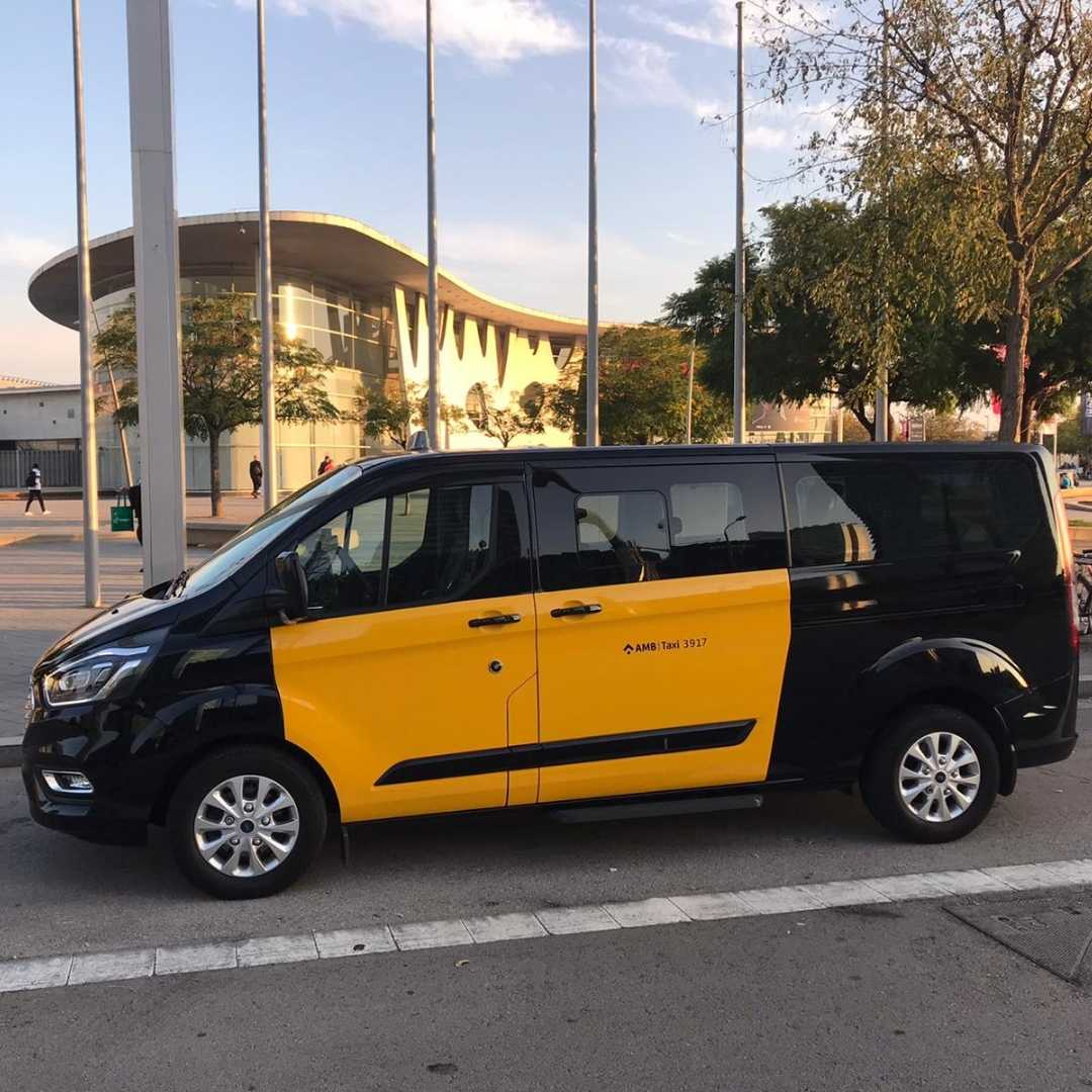 Minivan Barcelona 8 plazas