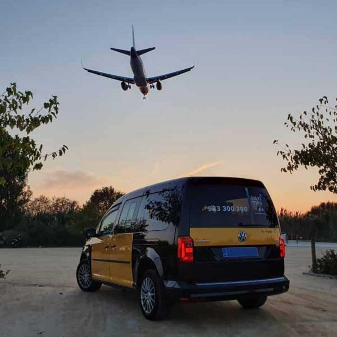 Monovolumen taxi Barcelona