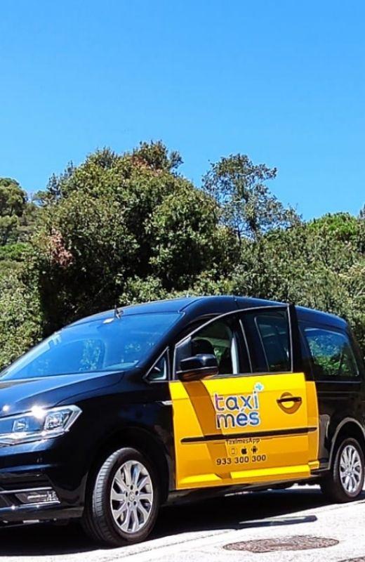 Taxi 5 plazas Barcelona