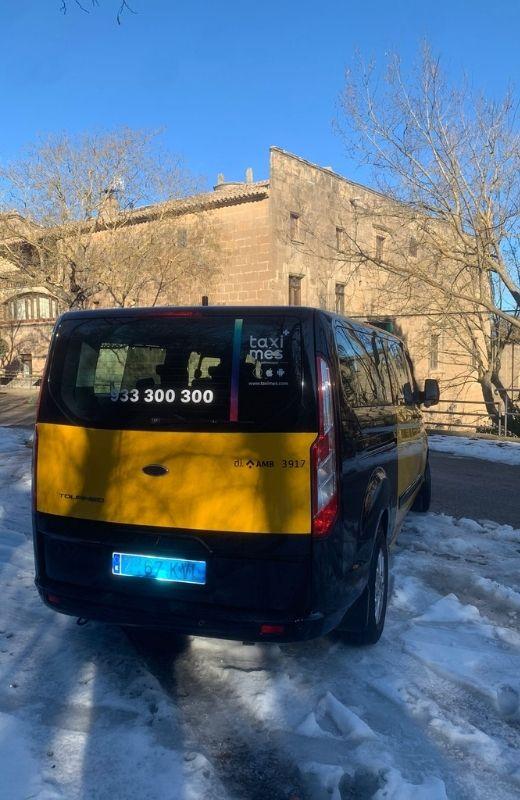 Taxi 7 plazas Barcelona